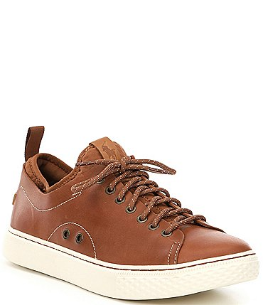 Image of Polo Ralph Lauren Men's Dunovin Leather Sneakers