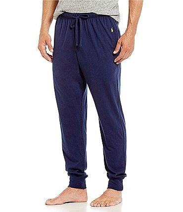 Image of Polo Ralph Lauren Ribbed Jersey Pajama Pants