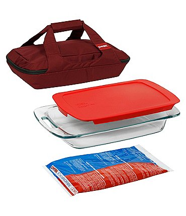 Image of Pyrex Portable 4-Piece Set