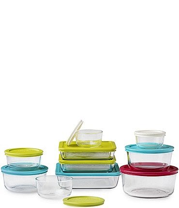 Image of Pyrex Simply Store Stackable 20-Piece Storage Set