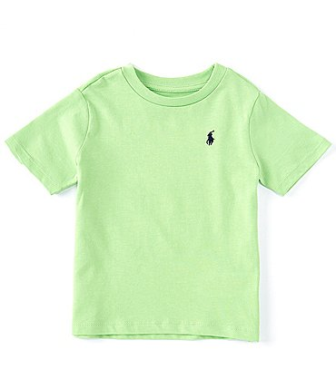 Image of Ralph Lauren Baby Boys 3-24 Months Short-Sleeve Essential Tee
