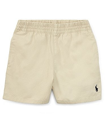 Image of Ralph Lauren Childrenswear Baby Boys 3-24 Months Classic Twill Shorts