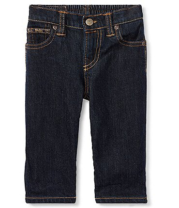 Image of Ralph Lauren Childrenswear Baby Boys 3-24 Months Denim Jeans