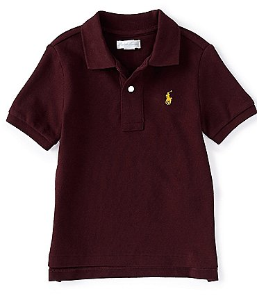 Image of Ralph Lauren Childrenswear Baby Boys 3-24 Months Short-Sleeve Mesh Polo Shirt