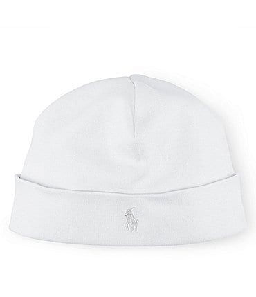 Image of Ralph Lauren Childrenswear Baby Beanie Cap