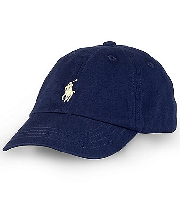 Image of Ralph Lauren Childrenswear Baby Boys Preppy Baseball Cap