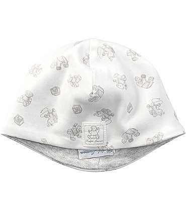 Image of Ralph Lauren Childrenswear Newborn Baby Mixed-Media Beanie Hat