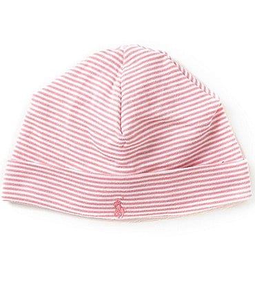 Image of Ralph Lauren Childrenswear Striped Beanie