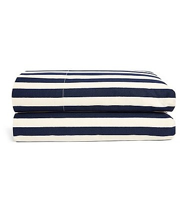 Image of Ralph Lauren Durant Collection Cameron Stripe Percale Sheets