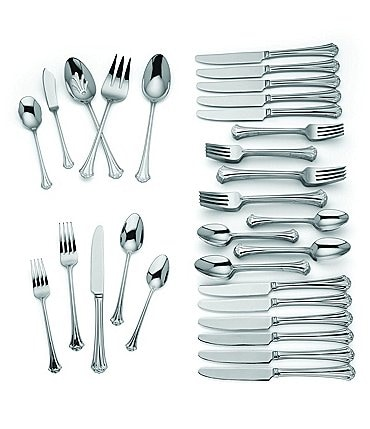 Image of Reed & Barton French Classic 65-Piece Stainless Steel Flatware Set