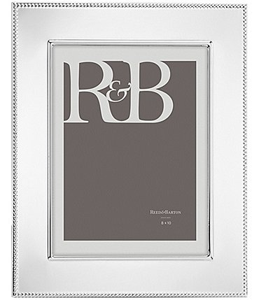 Image of Reed & Barton Lyndon Silver Picture Frame