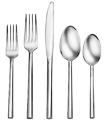 Image of Robinson Living by Robinson Henway 50-Piece Stainless Steel Flatware Set