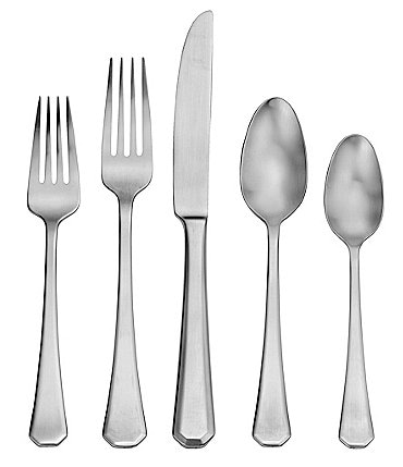 Image of Robinson Satin Redding 65-Piece Stainless Steel Flatware Set