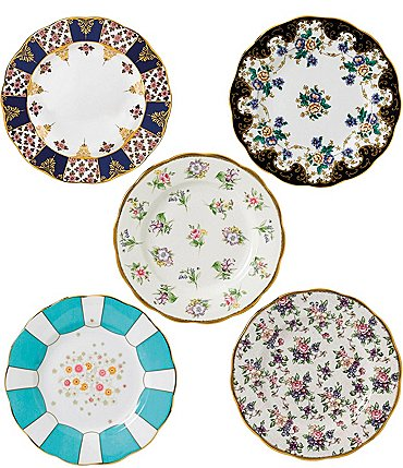 Image of Royal Albert 100 Years 1900-1940 5-Piece Plate Set