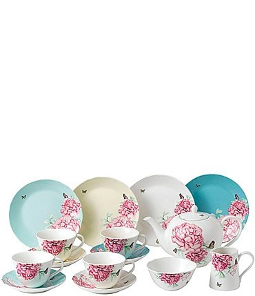 Image of Royal Albert Everyday Friendship 15-Piece Tea Set Mixed Colors
