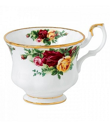 Image of Royal Albert Old Country Roses Floral Bone China Cup