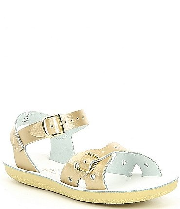 Image of Saltwater Sandals by Hoy Girls' Sun-San Sweetheart Water Friendly Sandals Infant
