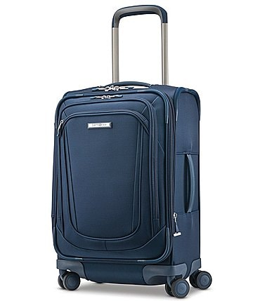 Image of Samsonite Silhouette 16 Soft Side Expandable Carry-On Spinner