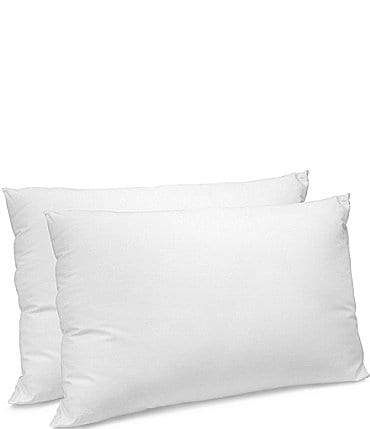 Image of Sensorpedic CoolMAX 400 Thread Count Cotton Jumbo Pillow - 2 Pack