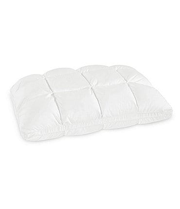 Image of SensorPEDIC Hand Tufted Baffle Box Down Alternative and Memory Foam Pillow