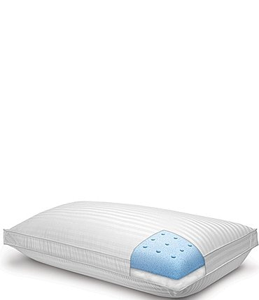 Image of Sensorpedic Majestic iCOOL Dual-Comfort 500-Thread-Count Tencel® Memory Foam Down-Alternative Pillow
