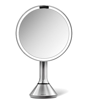 "Image of simplehuman Pink 8"" Sensor Lighted Mirror with Brightness Control"