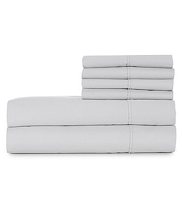 Image of Simply Home 1000-Thread-Count Sateen Sheet Set with Bonus Pillowcases