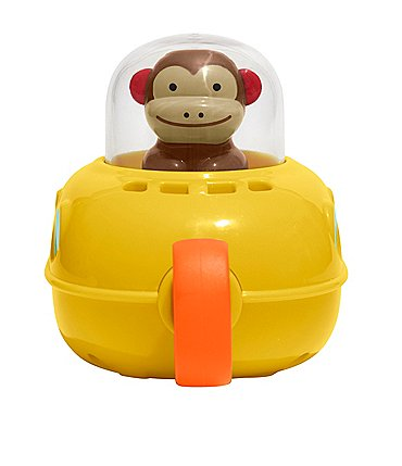 Image of Skip Hop Pull-Go Sub Monkey Bath Toy