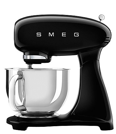 Image of SMEG 50's Retro 5-Quart Stand Mixer with Stainless Steel Bowl