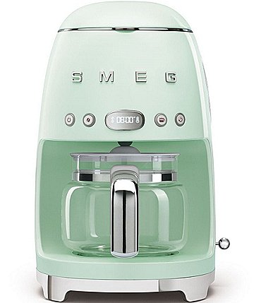 Image of Smeg 50's Retro Drip Filter 10-Cup Coffee Machine