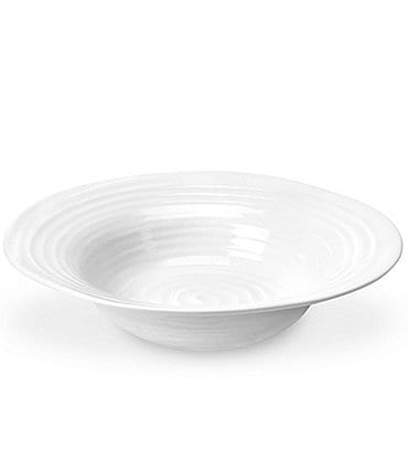 Image of Sophie Conran for Portmeirion White Porcelain Bistro Bowl