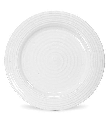 Image of Sophie Conran for Portmeirion White Porcelain Lunch Plate