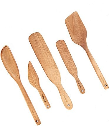 Image of Southern Living Acacia Wood Kitchen Utensils, Set of 5