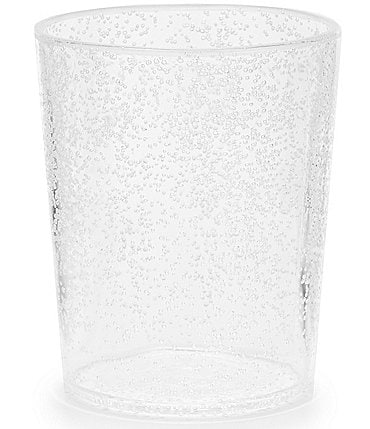 Image of Southern Living Acrylic Clear Bubble Double Old-Fashion Glass