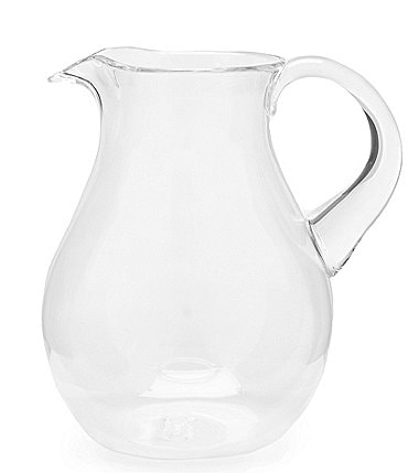 Image of Southern Living Acrylic Clear Cordova Belly Pitcher