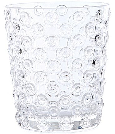 Image of Southern Living Acrylic Hobnail Double Old-Fashion Glass