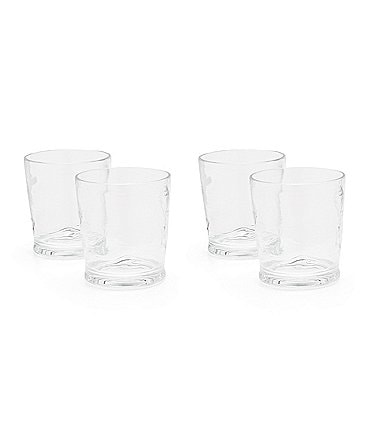 Image of Southern Living Acrylic Ribbed Double Old-Fashion Drinkware