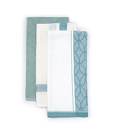 Image of Southern Living Jacquard Kitchen Towels, Set of 3