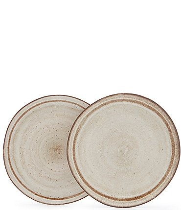 Image of Southern Living Astra Glazed Dinner Plates, Set of 2