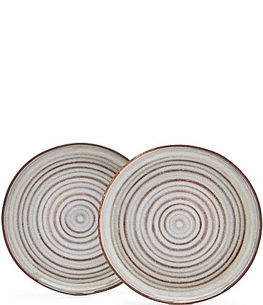 Image of Southern Living Astra Collection Glazed Salad Plate, Set of 2