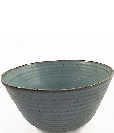 Image of Southern Living Astra Collection Glazed Stoneware Serving Bowl