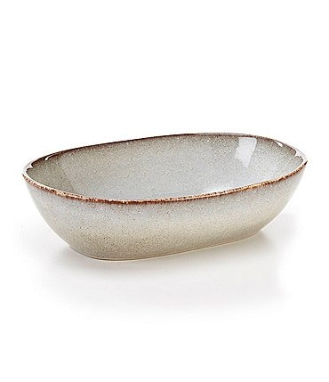 Image of Southern Living Astra Glazed Stoneware Small Oval Baker