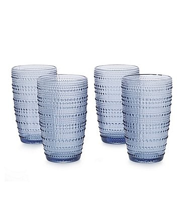 Image of Southern Living Beaded Highball Glass, Set of 4