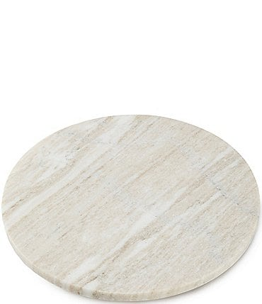 Image of Southern Living Beige Marble Large Round Board
