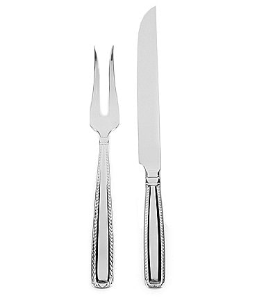 Image of Southern Living Charleston 2-Piece Stainless Steel Carving Set