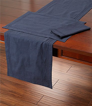 Image of Southern Living Double-Hem-Stitched Linen Napkin