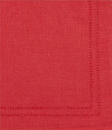 Image of Southern Living Double-Hem-Stitched Linen Table Linens