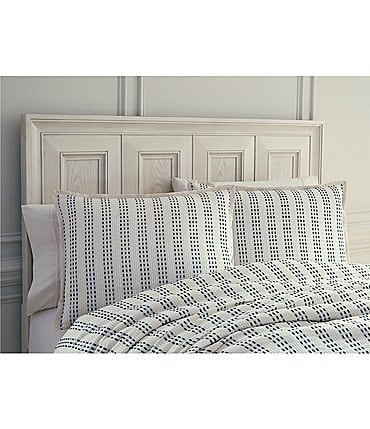 Image of Southern Living Freemont Striped Duvet Mini Set