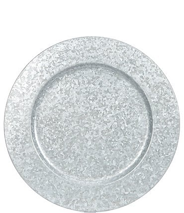 Image of Southern Living Galvanized Charger Plate