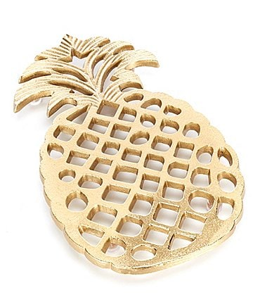 Image of Southern Living Gold Pineapple Trivet